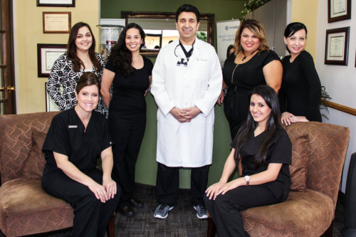 Dr. Darian and Staff